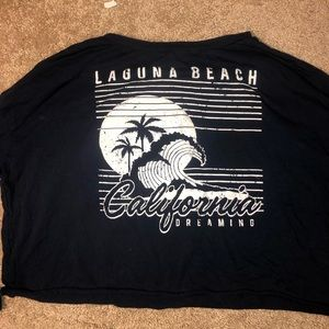 California Crop Top - French Pastry